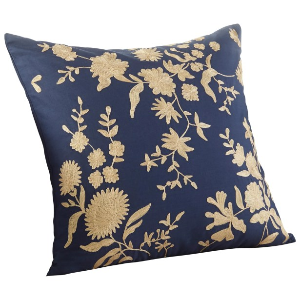 Porcelain Decorative Throw Pillow