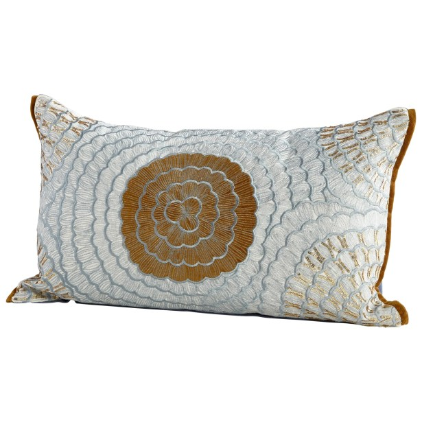 Mockingbird Decorative Cotton Lumbar Pillow