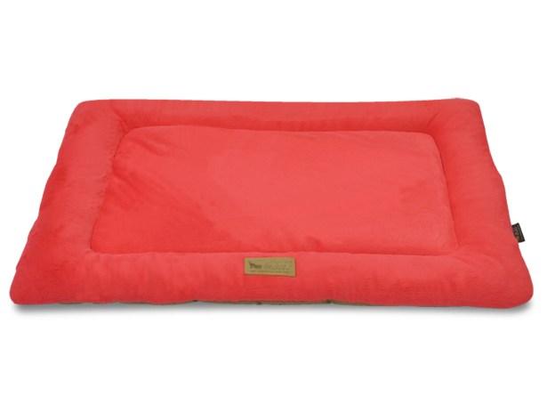 Chill Dog Pad Color: Vermillion / Hazelnut, Size: X-Small (20