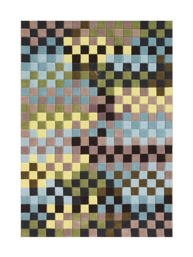 Elaine Hand Tufted Wool Forest Green Area Rug Rug Size: 5' x 8'