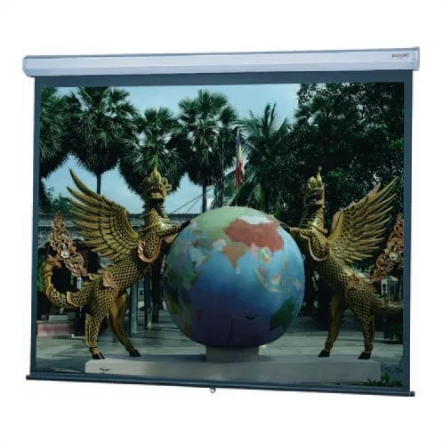 Model C Matte White Manual Projection Screen Viewing Area: 43