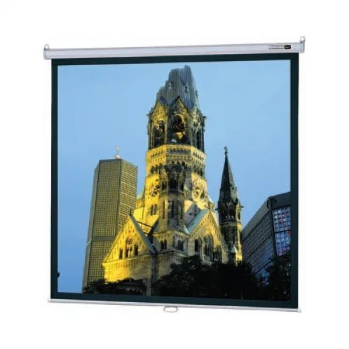 Model B Matte White Manual Projection Screen Viewing Area: 45