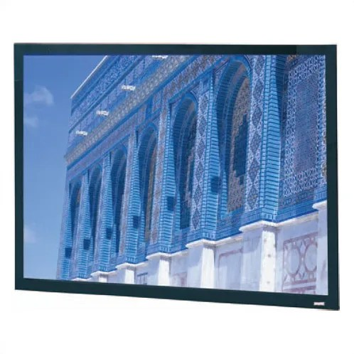 Da-Snap Black Fixed Frame Projection Screen Viewing Area: 69