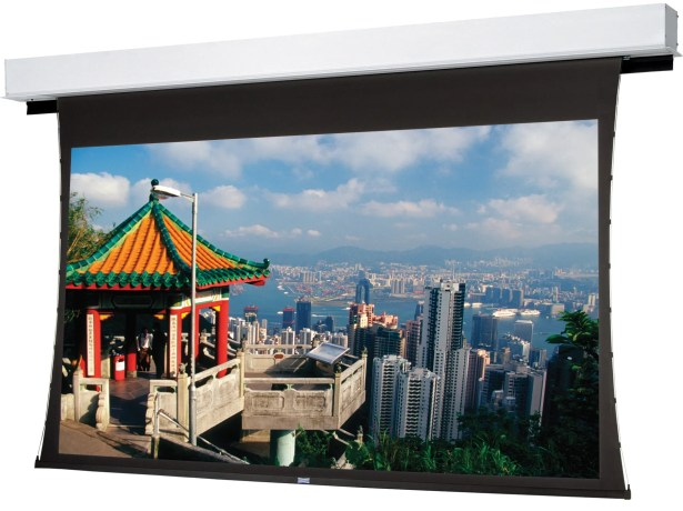 Tensioned Advantage Deluxe Electrol Electric Projection Screen Viewing Area: 100
