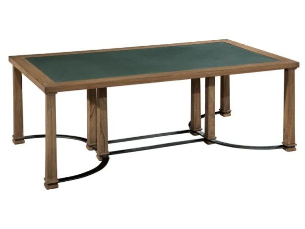 Elland Metal and Stone Coffee Table