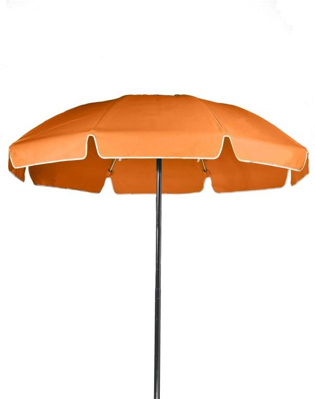 7.5' Drape Umbrella Color: Orange, Vent: Yes