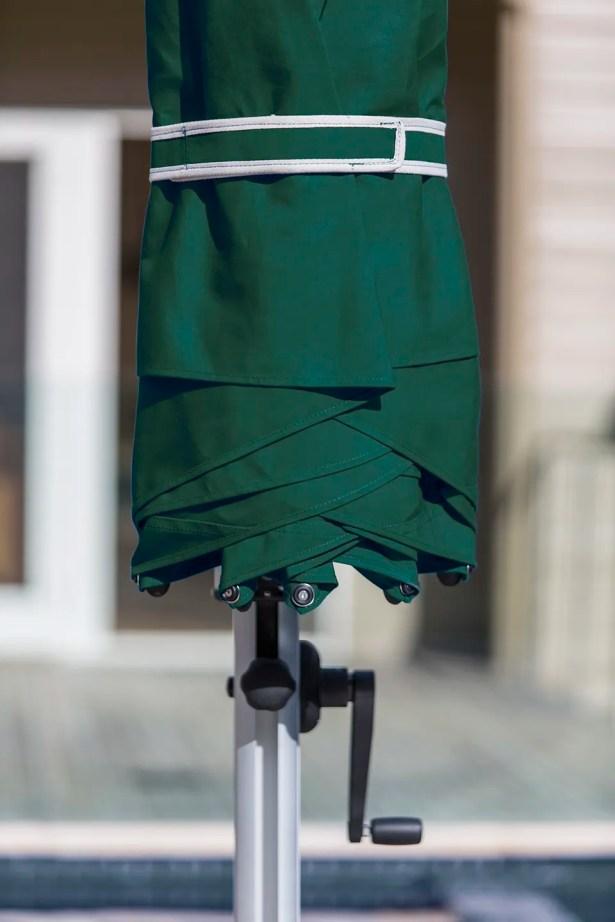 Aurora 11' Cantilever Umbrella Color: Forest Green