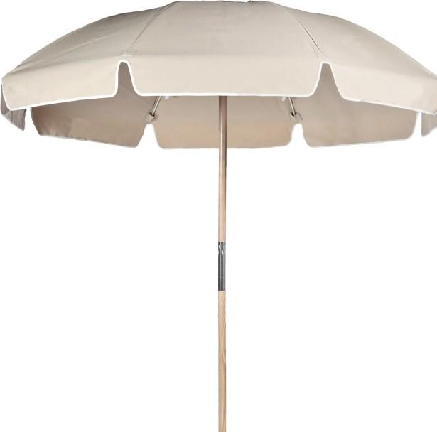 7.5' Beach Umbrella Fabric: Linen Acrylic