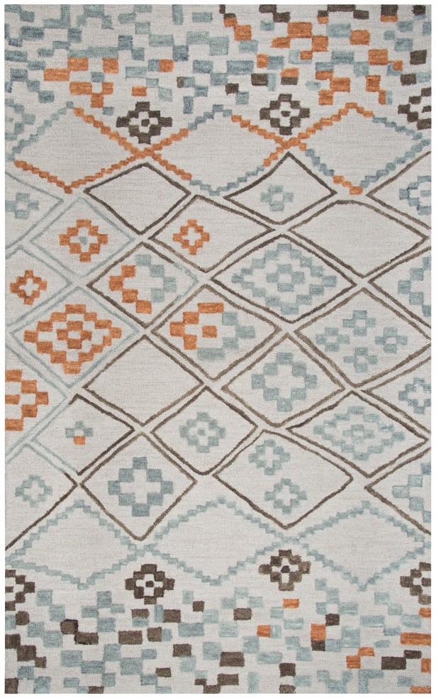 Dollard Hand-Tufted Wool Gray Area Rug Rug Size: Rectangle 8' x 10'