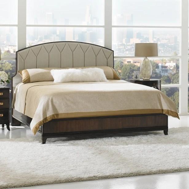 Crestaire Upholstered Platform Bed Color: Porter, Size: California King
