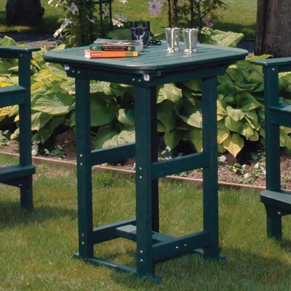 Portsmouth Outdoor Bar Table Finish: Harvest, Table Size: 30