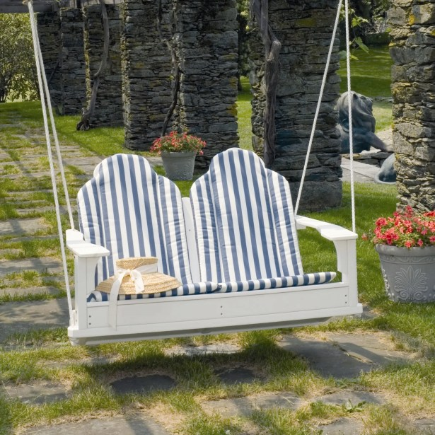 Adirondack Porch Swing Finish: Green