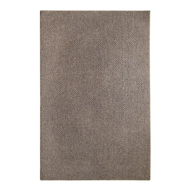 Metro Tundra Charcoal Area Rug Rug Size: 3' x 5'