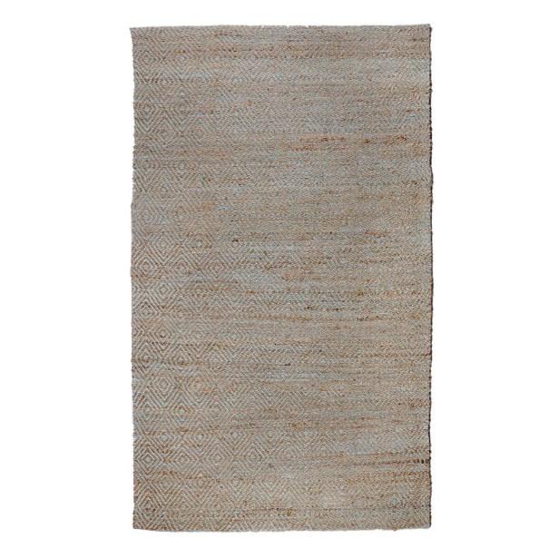 Neal Diamond Blue Teal Area Rug Rug Size: 3' x 5'