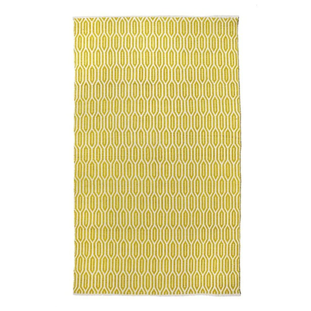 New Ogee Citron Area Rug Rug Size: 7'6