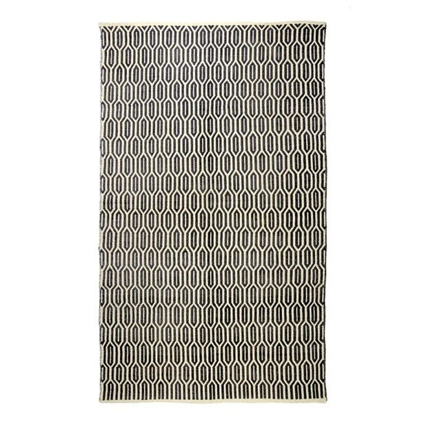 New Ogee Gray Area Rug Rug Size: 3' x 5'