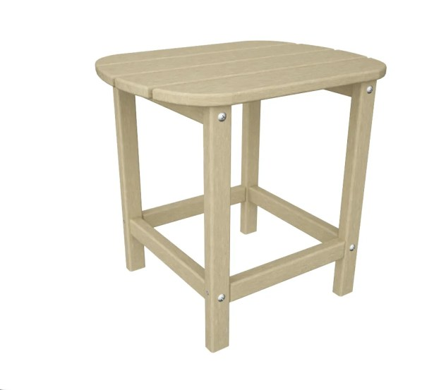 South Beach Side Table Finish: Sand, Table Size: 26