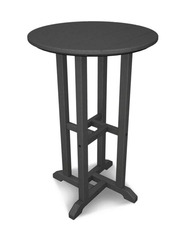 Traditional Bar Table Finish: Slate Grey