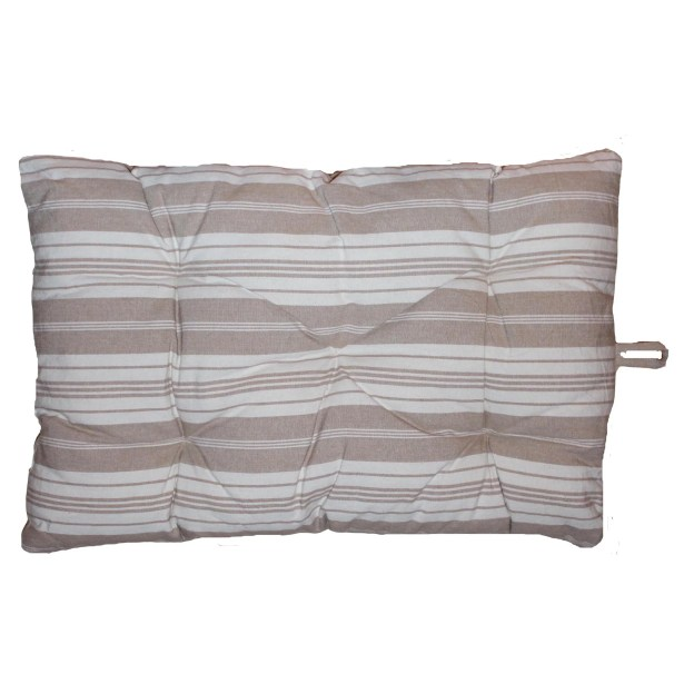 Algonquin Bonhuer Crate Futon Mat Color: Linen, Size: 30