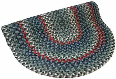 Pioneer Valley II Carribean Blue Multi Round Rug Rug Size: Round 7'6