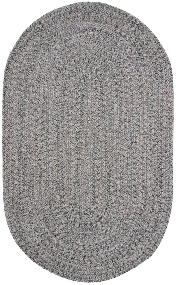 Town Crier Green Heather Indoor/Outdoor Rug Rug Size: Round 4'