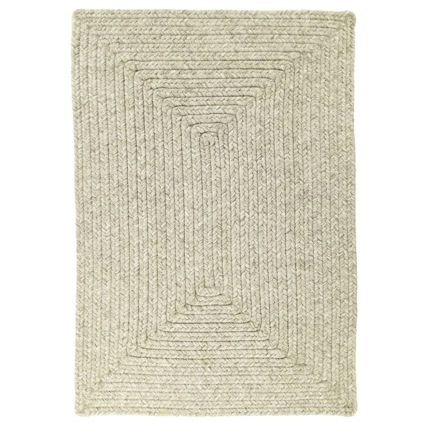 Ultra-Durable Slate Solid Indoor/Outdoor Area Rug Rug Size: Oval 2'3