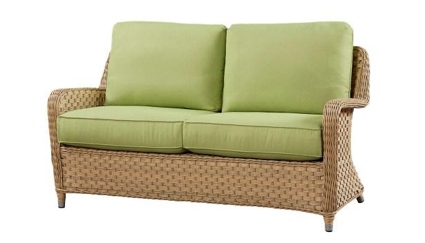 Sofa with Cushion Fabric: Canvas Granite