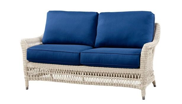 Sofa with Cushion Fabric: Flagship Papyrus