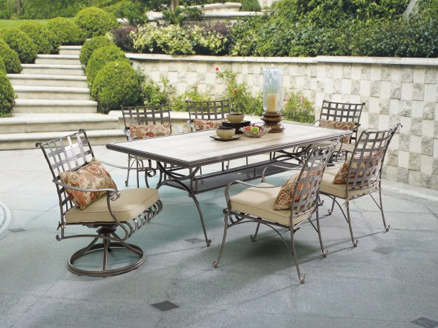 Antoine 7 Piece Dining Set with Cushions