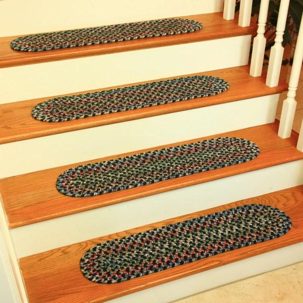 Cressa Navy Indoor/Outdoor Stair Tread