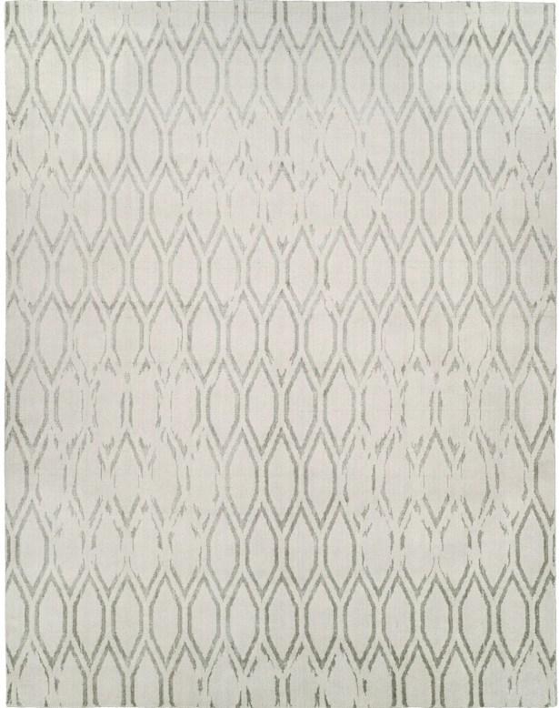 Hand-Woven Gray Area Rug Rug Size: Runner 2'6