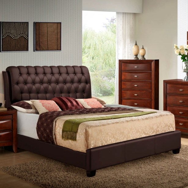 Barnes Upholstered Panel Bed Size: King