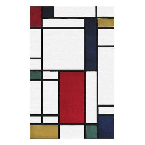 Modern Living Neo Metro Hand Tufted Red/Black Area Rug Rug Size: Rectangle 8' x 11'