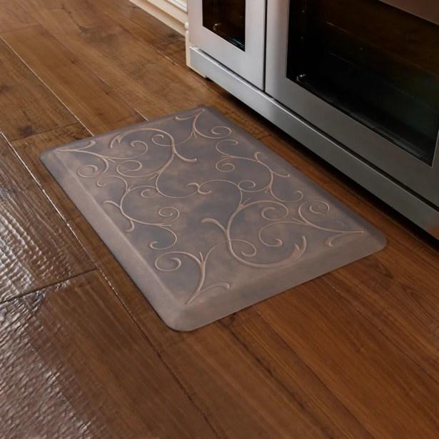 Kitchen Mat Color: Coconut, Mat Size: Rectangle 2' x 3'