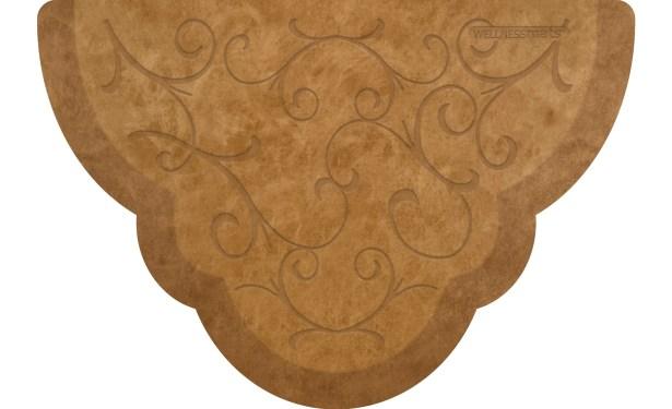 Kimberlin Mat Color: Copper Leaf