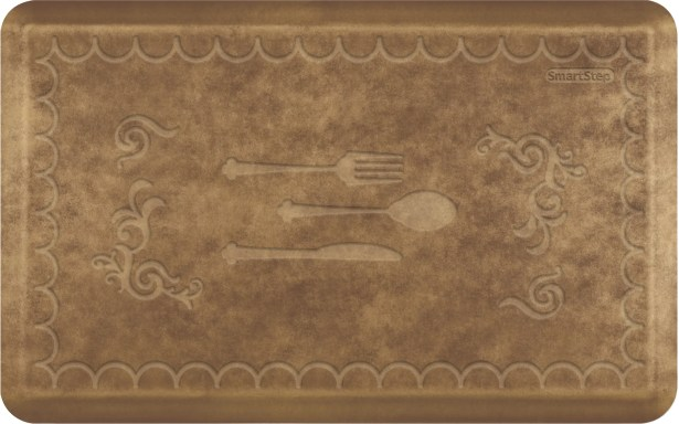 Gallery Mat Color: Brushed Gold