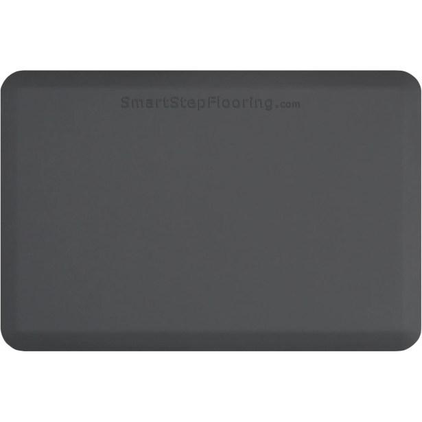 Kitchen Mat Color: Gray, Mat Size: Rectangle 5' x 4