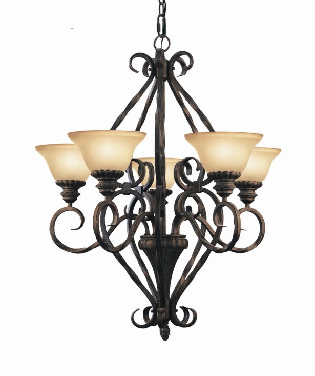 Willingham Contemporary 5-Light Shaded Chandelier