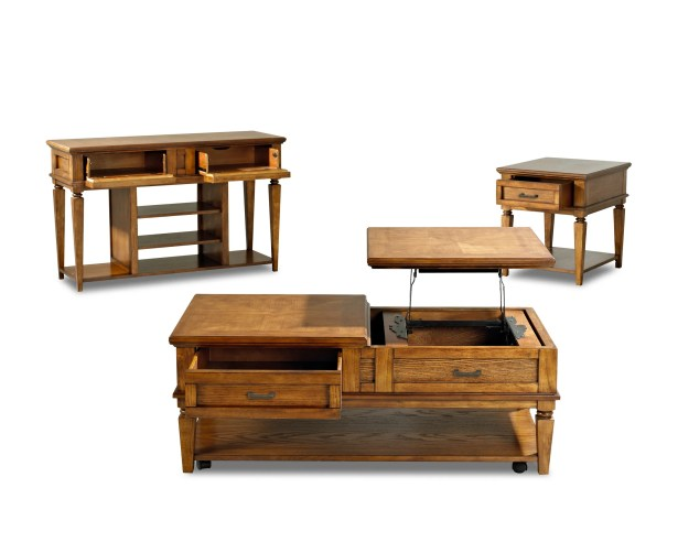Hanna 3 Piece Coffee Table Set