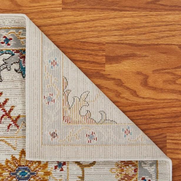 Amory Contemporary Cream Area Rug Rug Size: Rectangle 4' x 6'