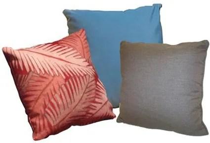 Throw Pillow Color: Mist, Size: 18