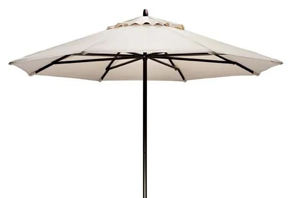Commercial 9' Market Umbrella Frame Finish: Textured Black, Fabric: Venture