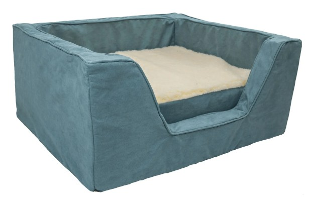 Luxury Solids Micro Suede Bolster with Memory Foam Color: Aqua, Size: Extra Large (31.5