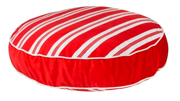 Super Soft Round Dog Pillow Size: Small (28