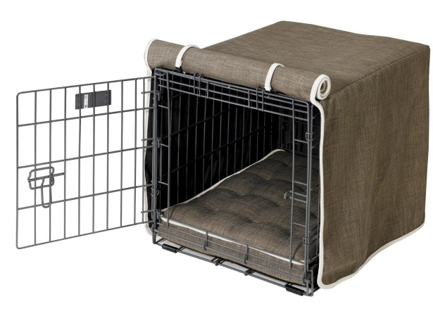 Luxury Dog Crate Cover Size: Large (25