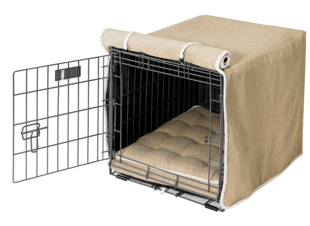 Luxury Dog Crate Cover I Size: Small (19
