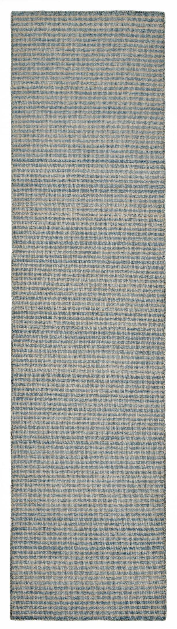 Blueridge Hand-Woven Blue Indoor/Outdoor Area Rug Rug Size: 8'3