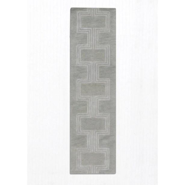 Gaydos Hand-Tufted Gray Area Rug Rug Size: Runner 2'3