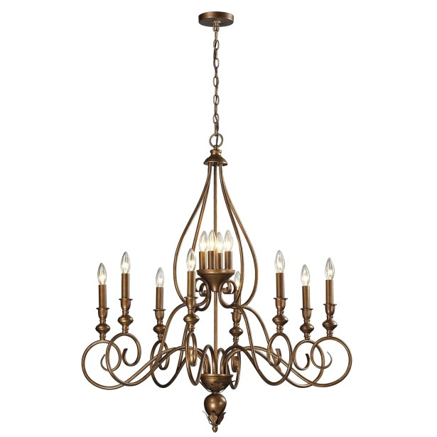 Lunsford 12-Light Chandelier