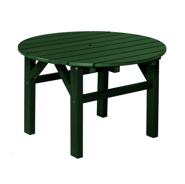 Sawyerville Chat Table Color: Turf Green